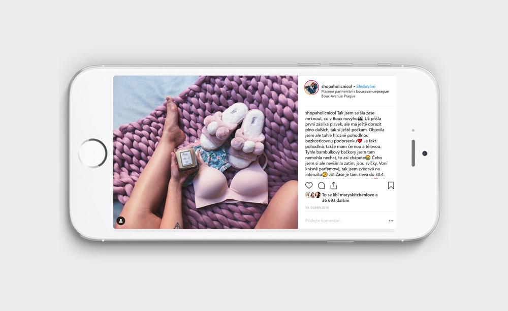 Boux Avenue - sociální sítě