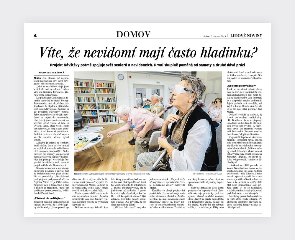 Nadační fond Českého rozhlasu Světluška - printový výstup